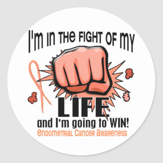Fight Of My Life 2 Endometrial Cancer Sticker