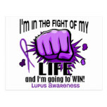 Fight Of My Life 2 Lupus Post Cards