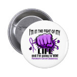 Fight Of My Life 2 Pancreatic Cancer 6 Cm Round Badge