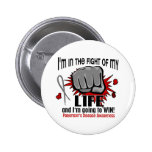 Fight Of My Life 2 Parkinson's Disease 6 Cm Round Badge