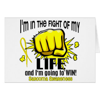 Fight Of My Life 2 Sarcoma Card