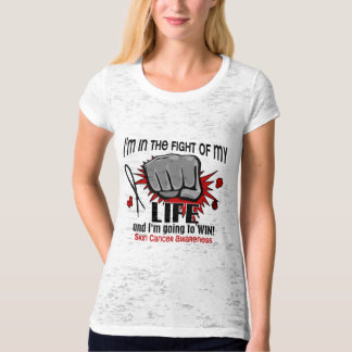 Fight Of My Life 2 Skin Cancer Tshirt