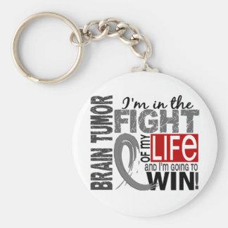 Fight Of My Life Brain Tumor Key Ring
