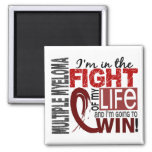 Fight Of My Life Multiple Myeloma Square Magnet