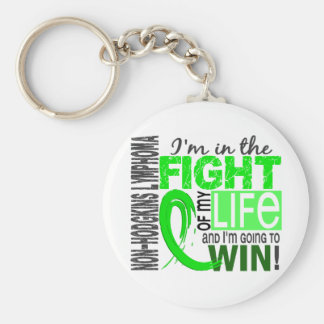 Fight Of My Life Non-Hodgkin's Lymphoma Basic Round Button Key Ring