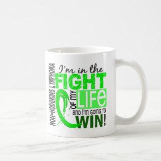 Fight Of My Life Non-Hodgkin's Lymphoma Basic White Mug