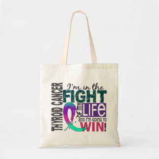 Fight Of My Life Thyroid Cancer Tote Bag