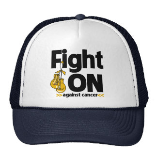 Fight On Against Appendix Cancer Mesh Hats