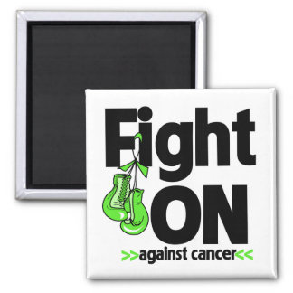 Fight On Against Non-Hodgkin's Lymphoma Square Magnet