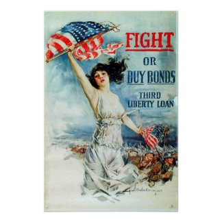 Fight or Buy Bonds Poster