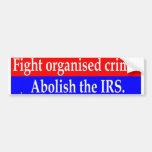 Fight organised crime