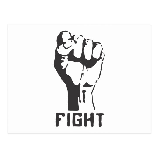FIGHT! POSTCARD