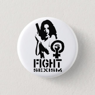 Fight Sexism 3 Cm Round Badge