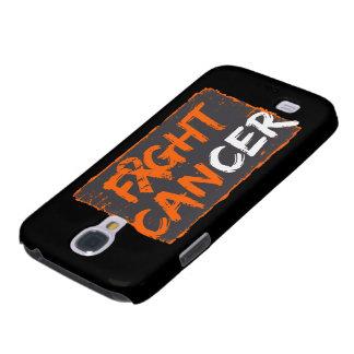 Fight Skin Cancer Orange Ribbon Galaxy S4 Cases