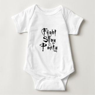 Fight Slay Party Baby Bodysuit