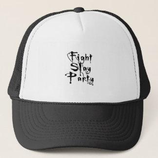 Fight Slay Party Trucker Hat