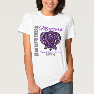 Fight Strong - Pancreatic Cancer T Shirts