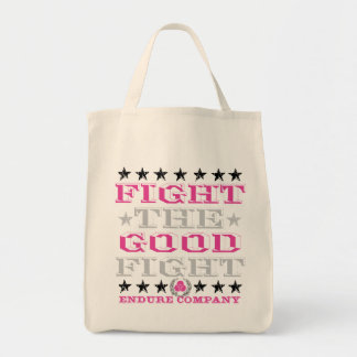 FIGHT THE GOOD FIGHT TOTE BAG