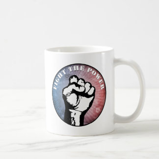 Fight The Power Basic White Mug