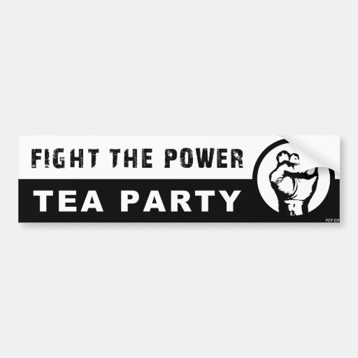 Fight The Power Bumper Stickers