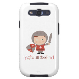 Fight Till The End Galaxy SIII Case