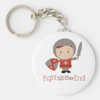 Fight Till The End Key Chain