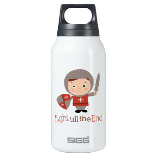 Fight Till The End 10 Oz Insulated SIGG Thermos Water Bottle