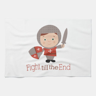 Fight Till The End Towel
