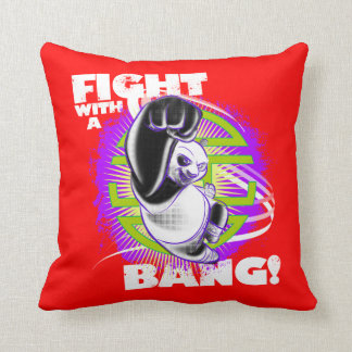 Fight with a Bang Cushion