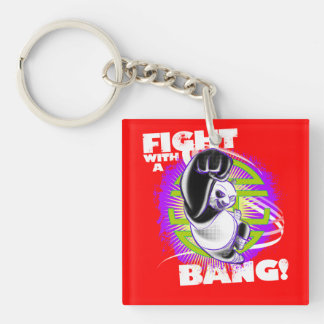Fight with a Bang Key Ring