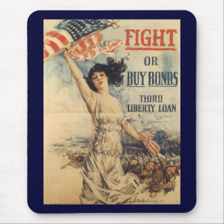 Fight World War 2 Mouse Pads
