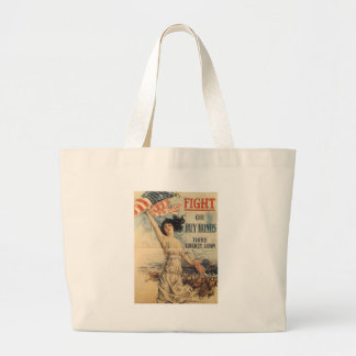 Fight World War II Tote Bags