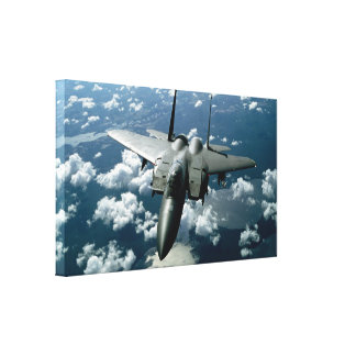 Fighter Jet Gallery Wrap Canvas