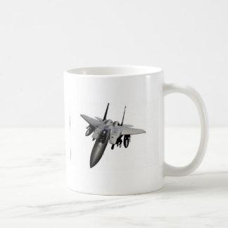 Fighter jet design coffee mug