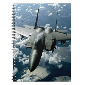 Fighter Jet Notebook