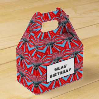 Fighter Jet Party Favour Box