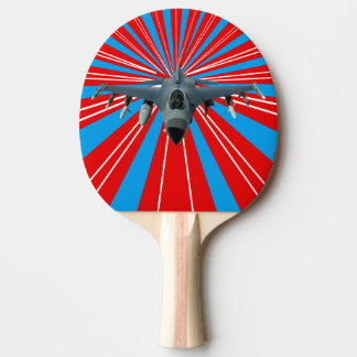 Fighter Jet Ping Pong Paddle
