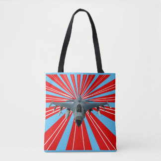 Fighter Jet Tote Bag