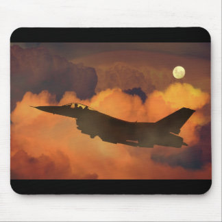 Fighter plane mouse mat