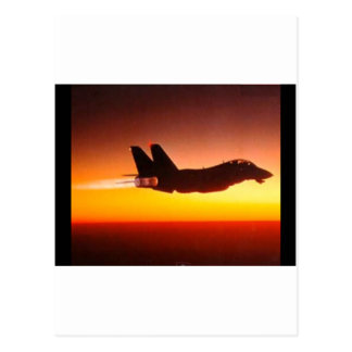 Fighter plane postcard