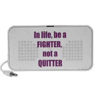 FIGHTER Quitter Quote Wisdom TEMPLATE Resellers Travel Speaker