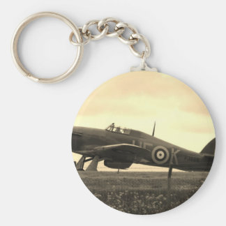 Fighter Scrambled For Take Off Key Ring