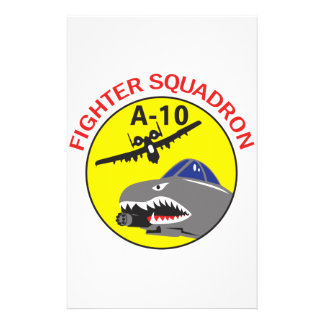 Fighter Squadron Stationery