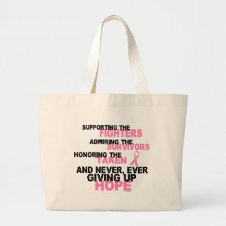 Fighters Survivors Taken 3 Breast Cancer Bag