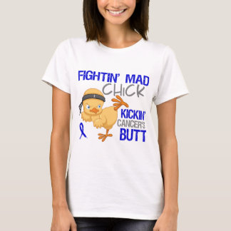 Fightin Chick Colon Cancer T-Shirt