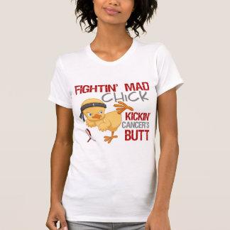 Fightin Chick Head Neck Cancer Tshirt