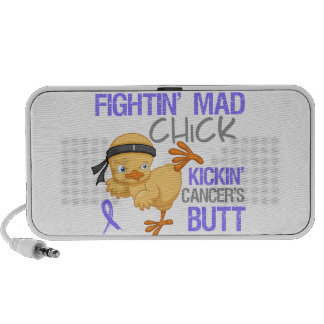 Fightin Chick Stomach Cancer Mini Speakers