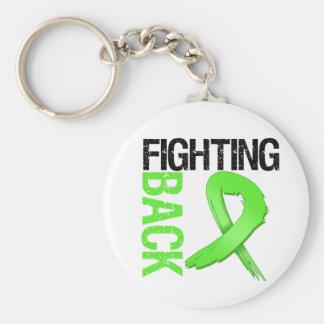 Fighting BACK Non-Hodgkin's Lymphoma Basic Round Button Key Ring