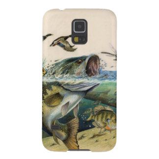 Fighting Bass Galaxy S5 Cover