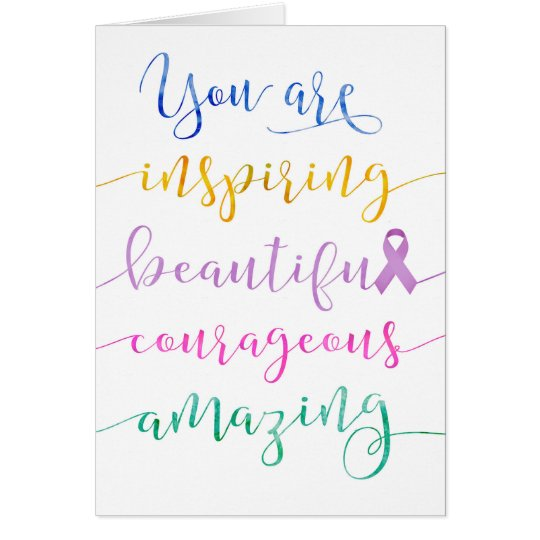 Fighting Cancer – Remember Who You Are Card